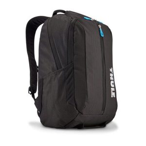 "Rucsac urban cu compartiment laptop Thule Crossover 25L Black pentru 15"" Apple MacBook Pro, w Safe-zone"